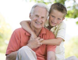Grandpa with Grandson